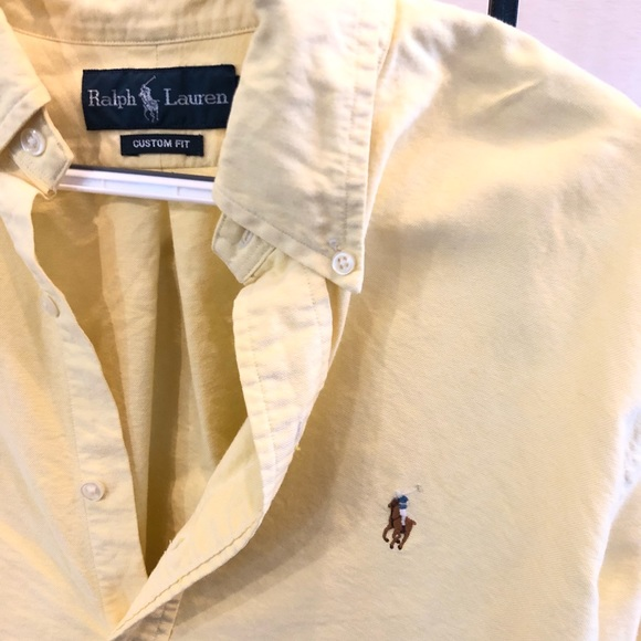 Polo by Ralph Lauren Other - Men's Yellow Large Polo Button Down